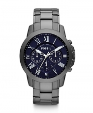 Ceas Grant Chronograph Stainless Steel Smoke